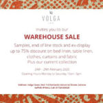 Warehouse Linen Sale