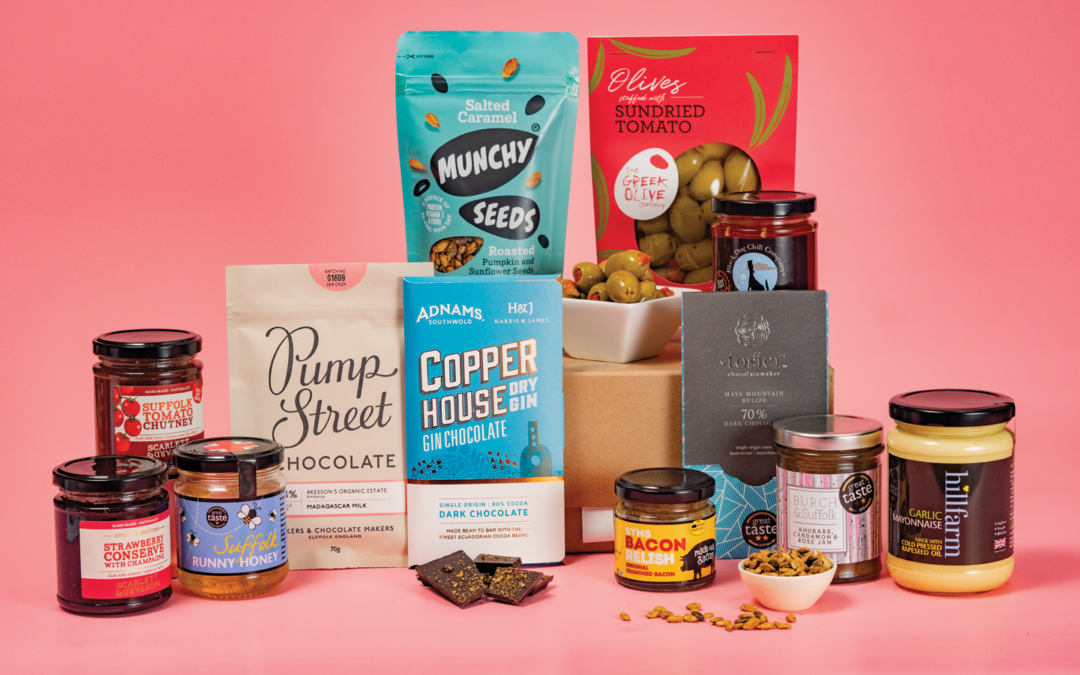 Win a luxury gift hamper packed with Suffolk goodies from East Coast Hampers