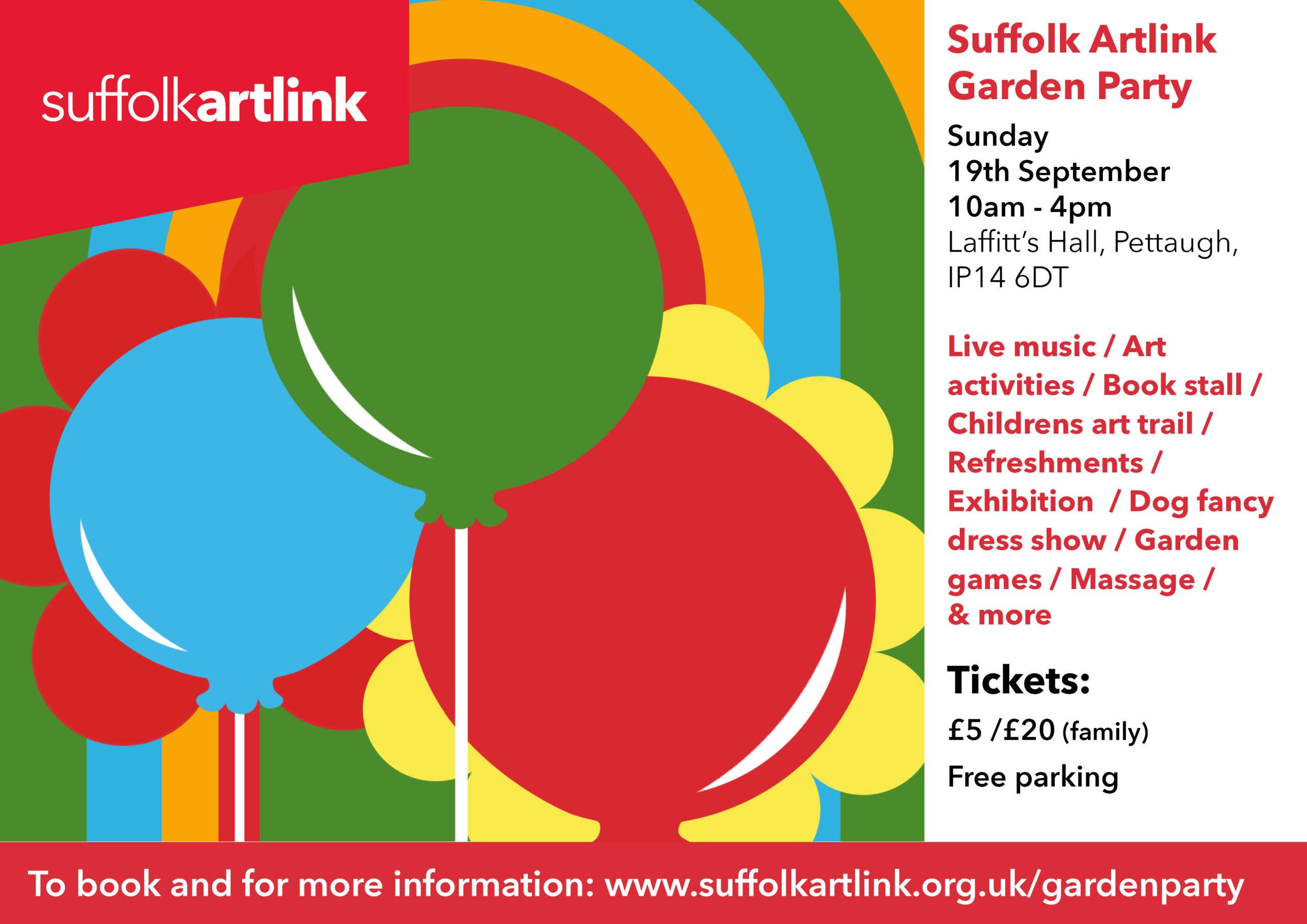 Suffolk Artlink Garden Party